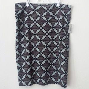 NEW LuLaRoe Cassie Skirt Geometric Stretch